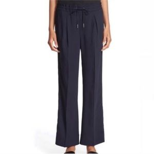 AYR 'The Drawcord' Navy Wide Leg Ankle Pants